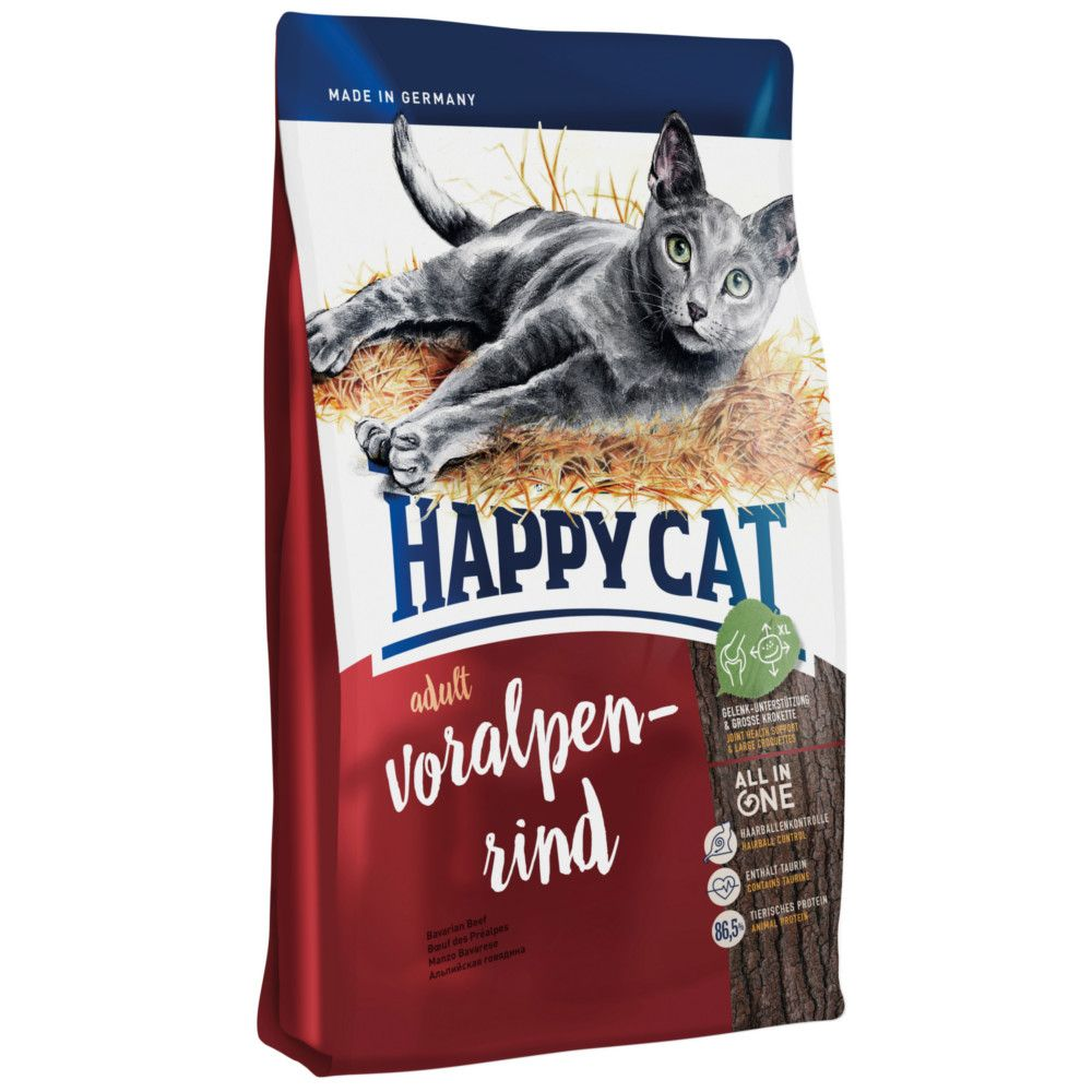 Happy Cat Supreme Adult Voralpen-Rind Trockenfutter