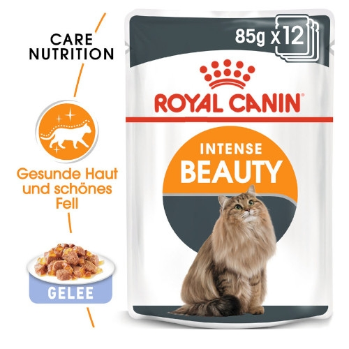 Royal Canin Intense Beauty Katzenfutter nass in Gelee