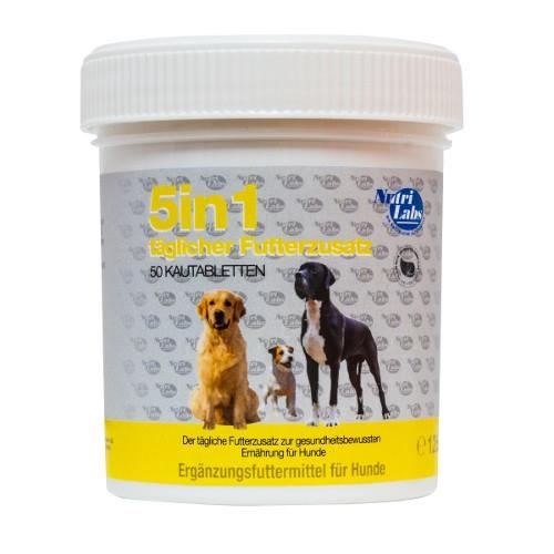 NutriLabs 5in1 Ergänzungsfutter für Hunde