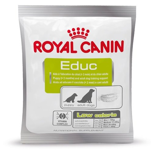 Royal Canin EDUC kalorienarme Belohnung für Erziehung und Training
