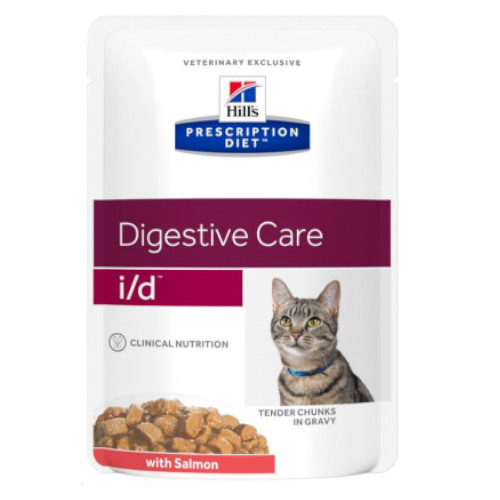Hill's Prescription Diet i/d feline mit Lachs Frischebeutel