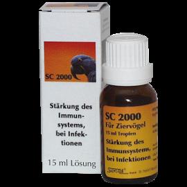 Supra-Cell homöopathisches Arzneimittel für Vögel SC 2000 Stärkung des Immunsystems, bei Infektionen