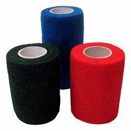 Kohäsive Bandagen verschiedene Farben 4,5 m Rolle mit 7,5 cm Breite