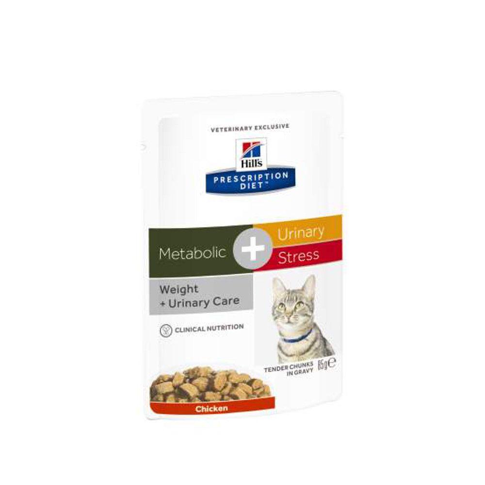 Hill's Prescription Diet Metabolic Urinary Stress feline Frischebeutel