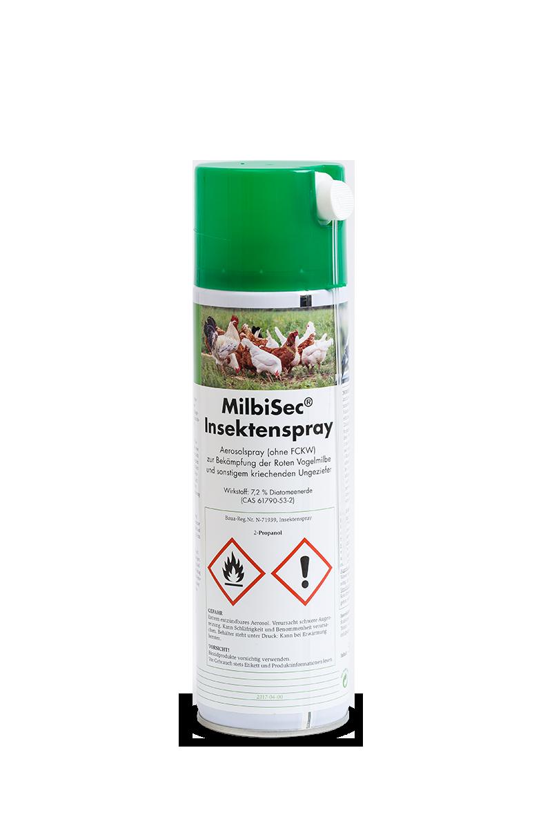 MilbiSec Spray für die Umgebungsbehandlung von Plantavet