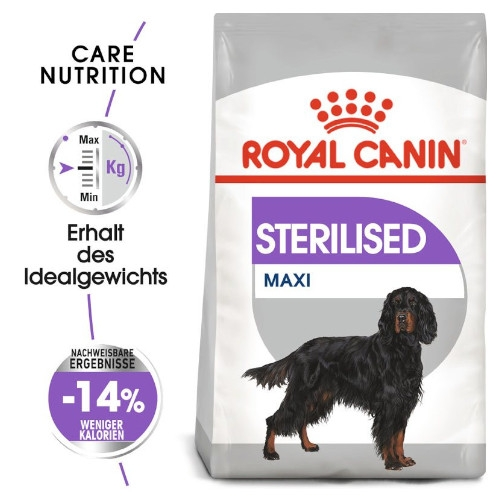 Royal Canin STERILISED MAXI Trockenfutter für kastrierte große Hunde
