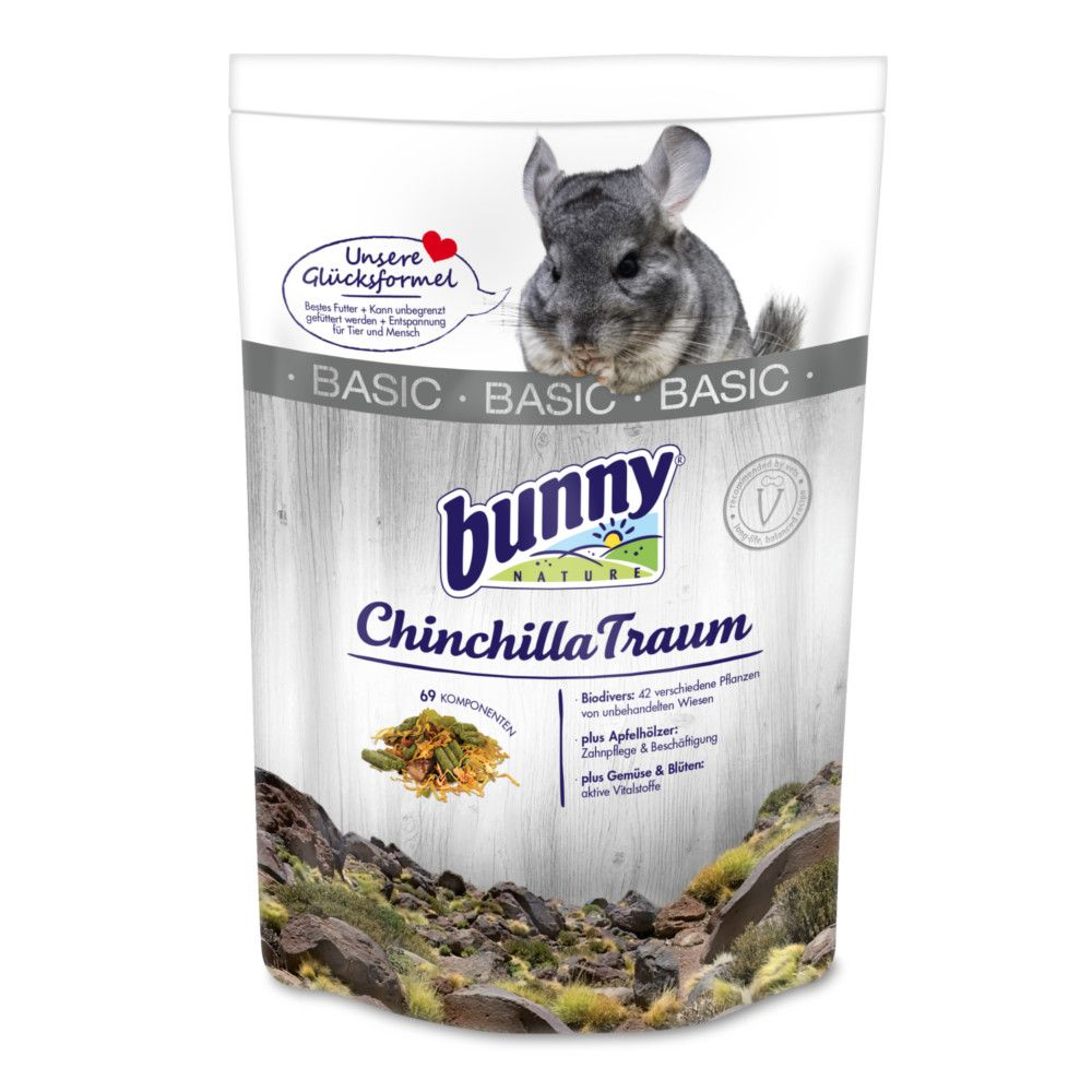 Bunny ChinchillaTraum basic 600g