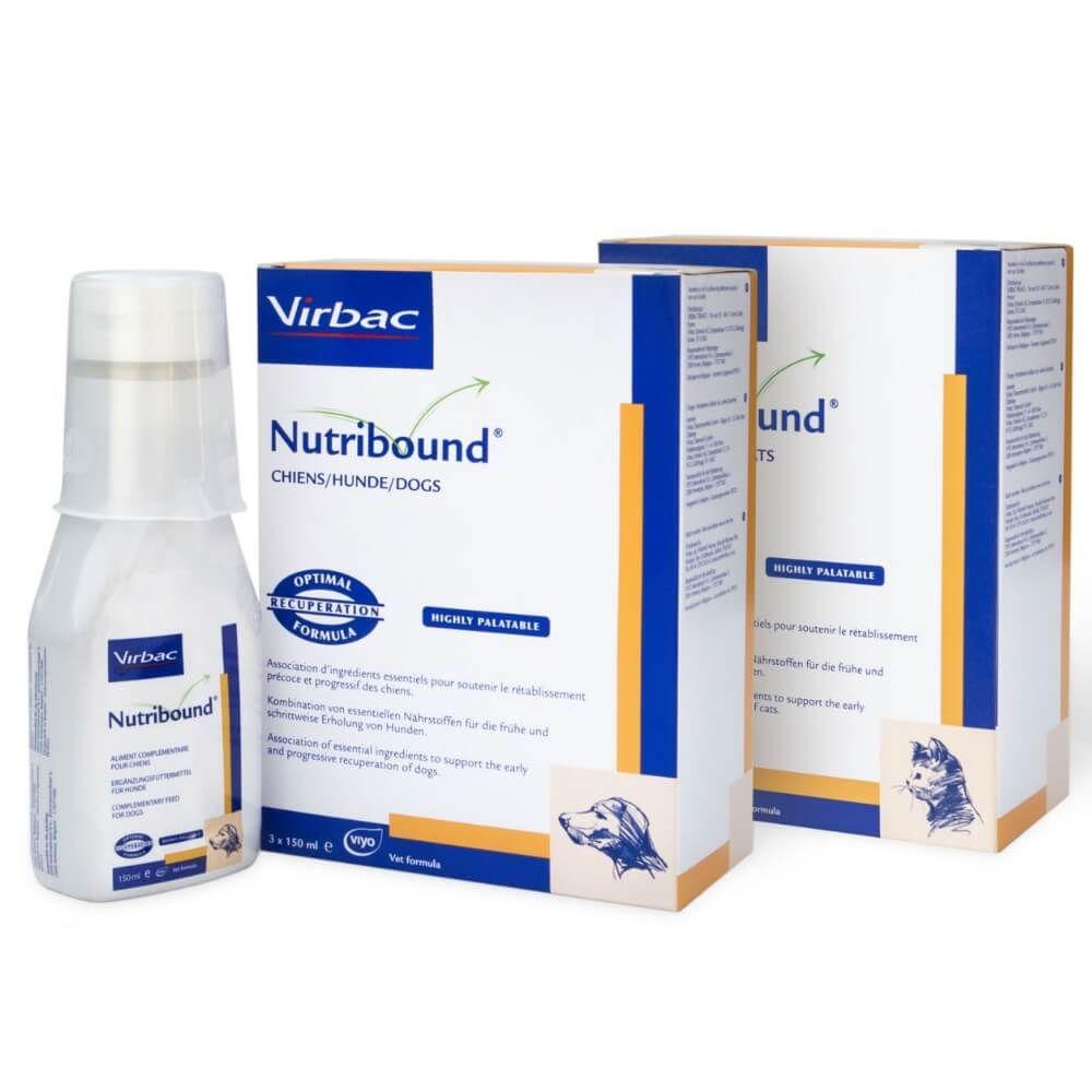 Virbac Nutribound für Hunde und Katzen
