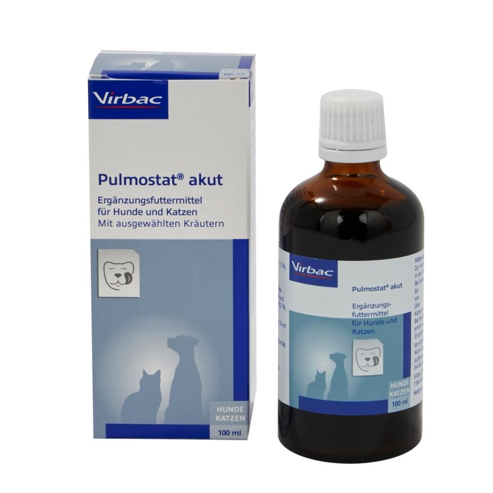 Pulmostat akut 100ml Hustensaft für Hunde und Katzen von Virbac