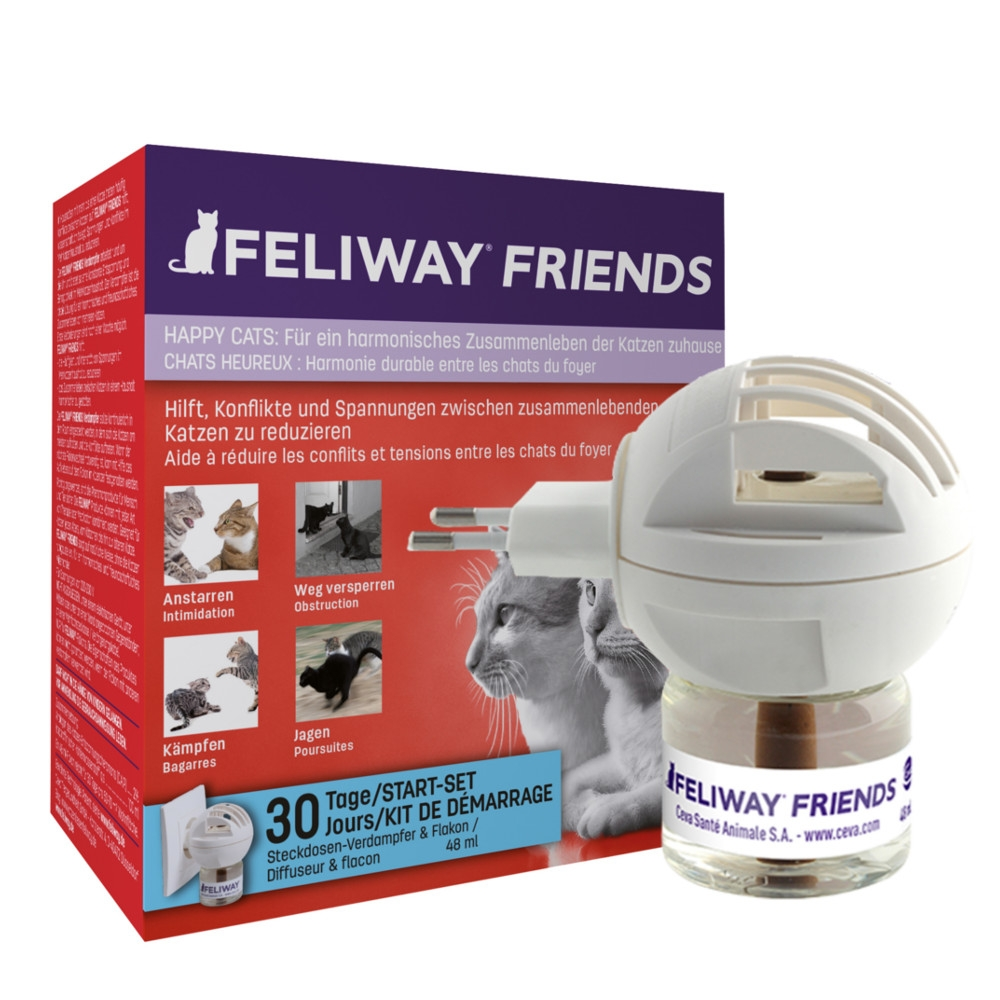 Ceva Feliway Friends Happy Cats Starter-Set 48ml