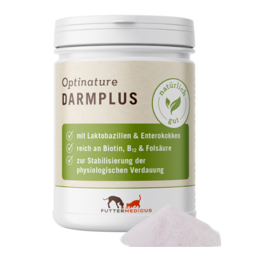 Futtermedicus Optinature DarmPlus für Hunde und Katzen