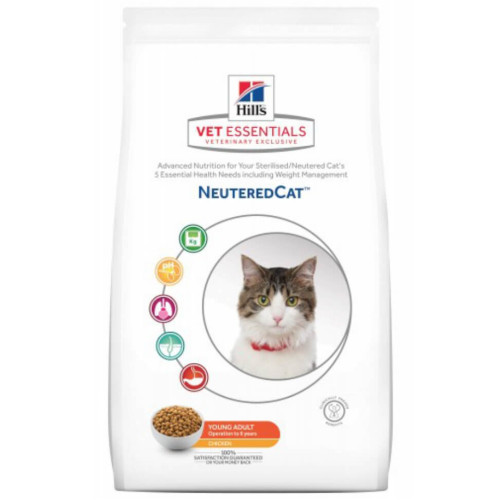 Hill's VetEssentials Feline Neutered Cat Young Adult - Huhn