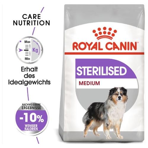 Royal Canin STERILISED MEDIUM Trockenfutter für kastrierte mittelgroße Hunde
