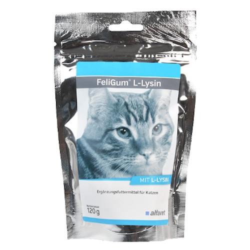 alfavet FeliGum L-Lysin 120 g