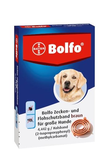 Bayer Bolfo Zecken- und Flohschutzband braun für große Hunde 65 cm
