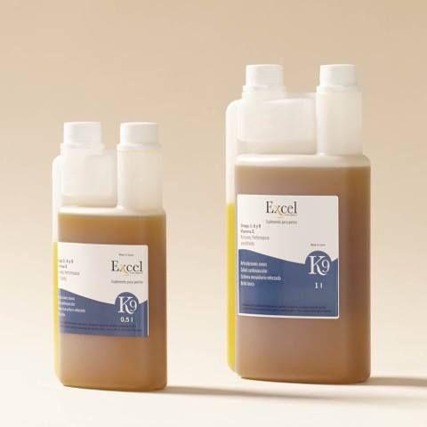 K9 Leindotteröl mit Omega-3-6-9-Fettsäuren und Vitamin E von ExcelEQ