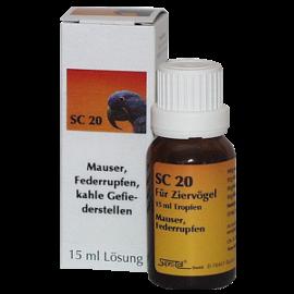 Supra-Cell homöopathisches Arzneimittel für Vögel SC 20 Mauser