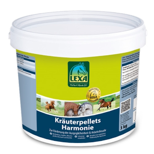 Lexa Kräuterpellets Harmonie 3 kg Eimer