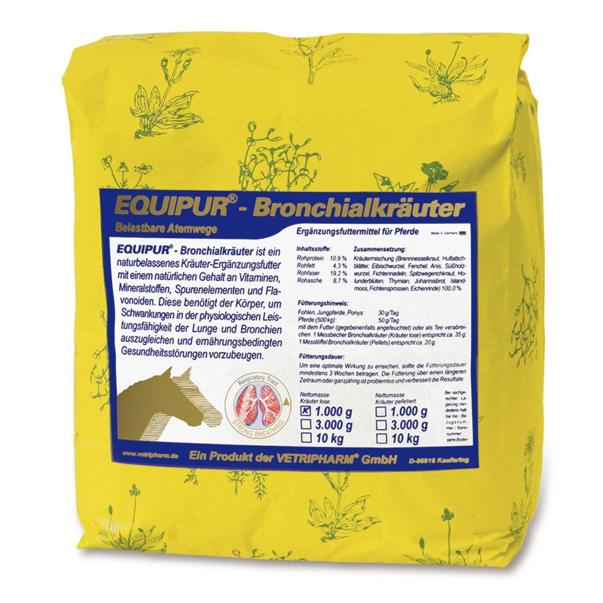 Vetripharm Equipur Bronchialkräuter