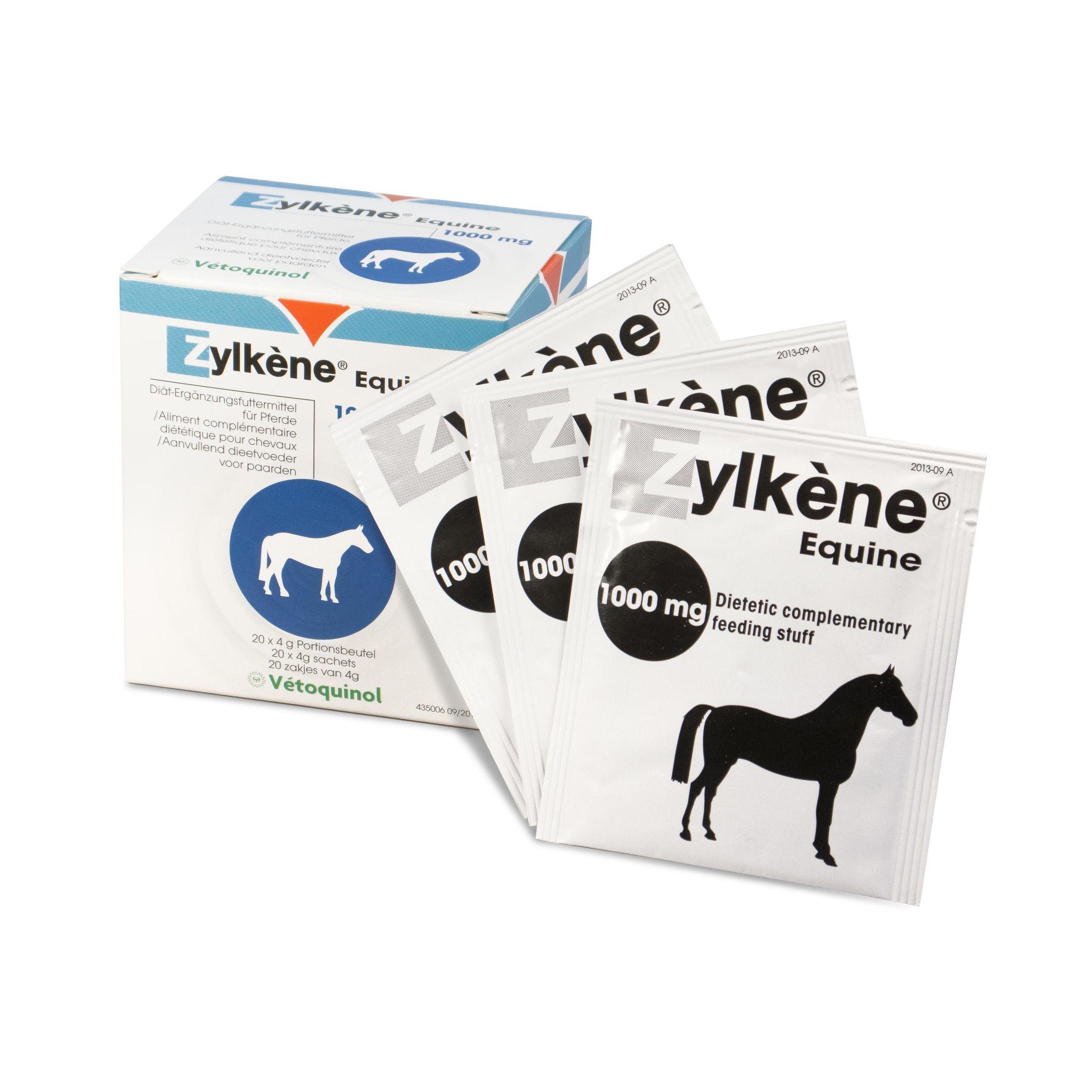 Zylkéne Equine 20 Beutel zu je 1000 mg für Pferde