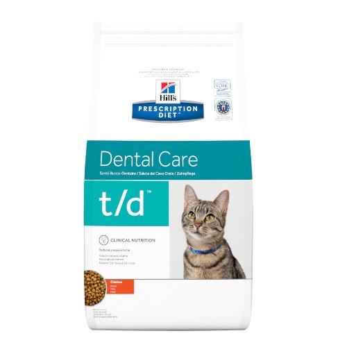Hill's Prescription Diet t/d feline Trockenfutter