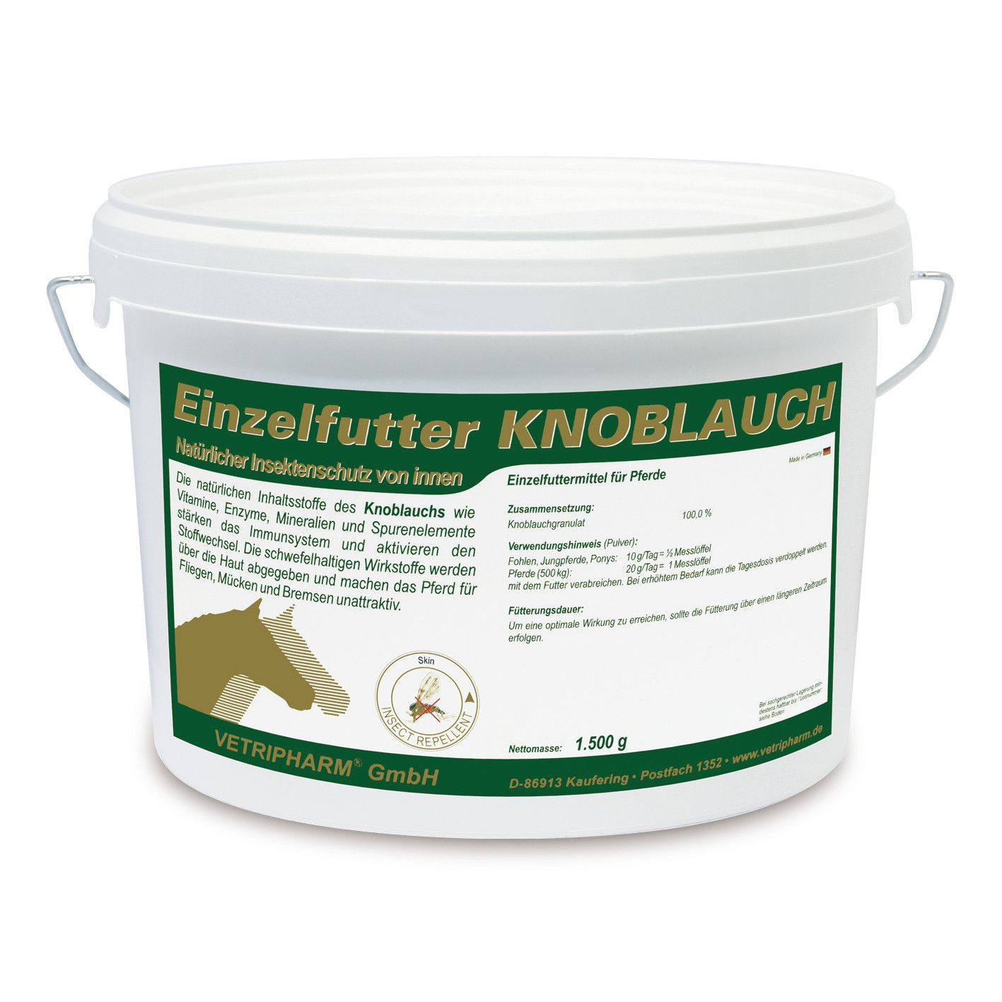 Vetripharm Knoblauch