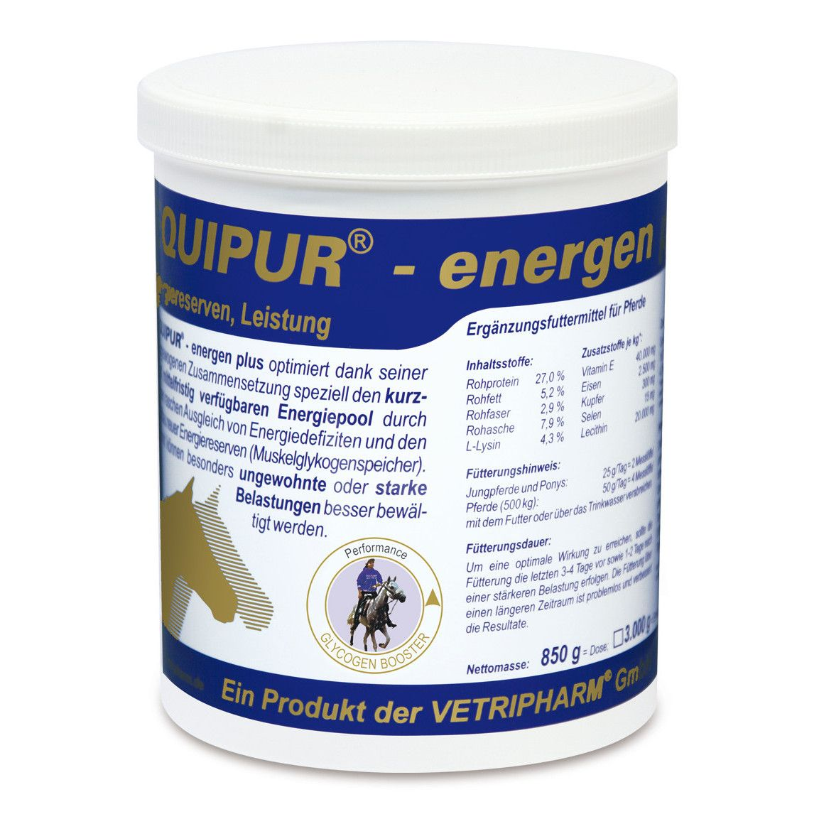 Vetripharm Equipur energen plus