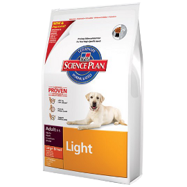 Hill's Science Plan Canine Adult Light Large Breed – Huhn – 12 kg Trockenfutter
