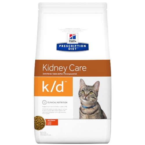 Hill's Prescription Diet k/d feline Trockenfutter