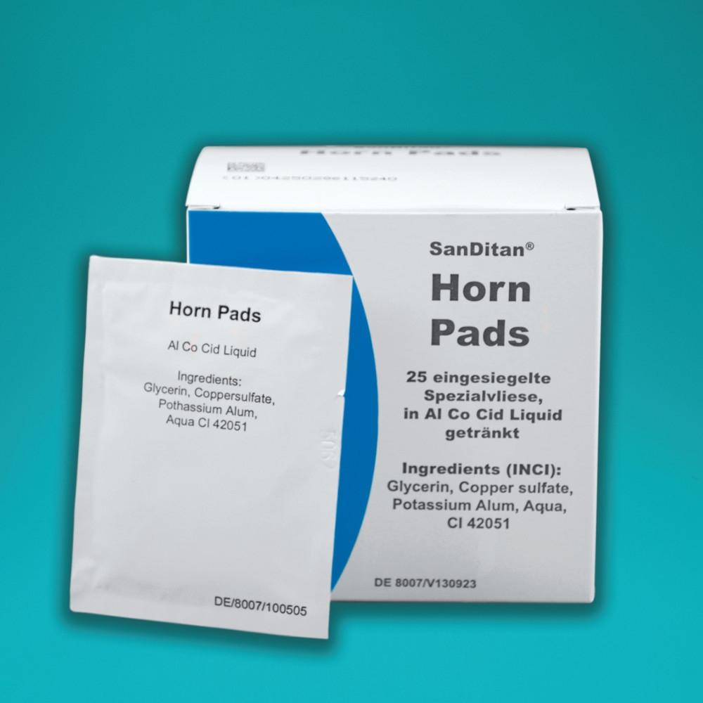 Veyx SanDitan Horn Pads für Pferde