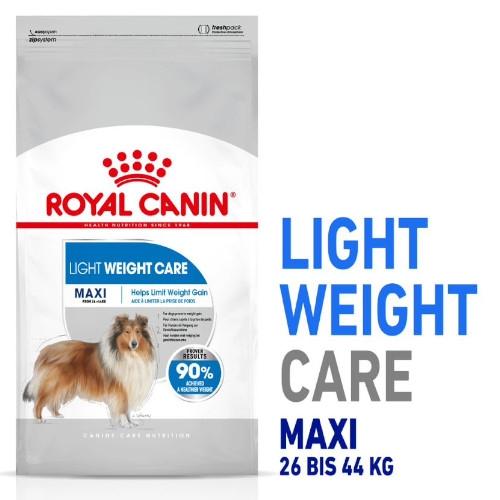 Royal Canin LIGHT WEIGHT CARE MAXI Trockenfutter für zu Übergewicht neigenden Hunden