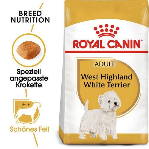 Royal Canin West Highland White Terrier Adult Hundefutter trocken