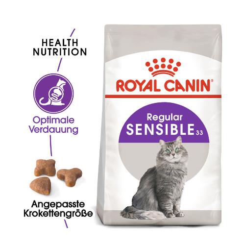 Royal Canin Sensible 33 für Katzen Trockenfutter