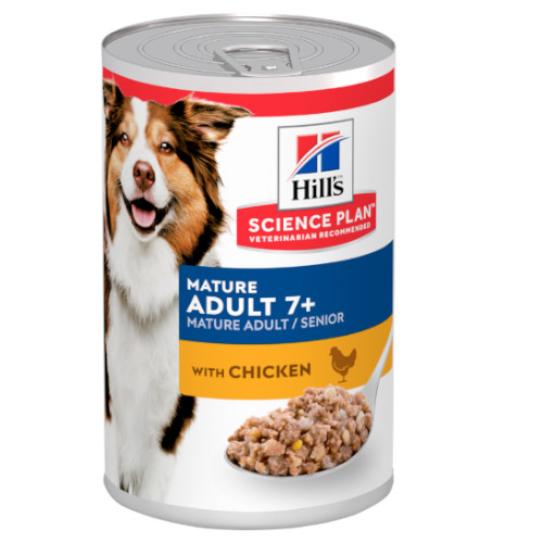 Hill's Science Plan Canine Mature Adult 7+ - 12 x 370 g Nassfutter