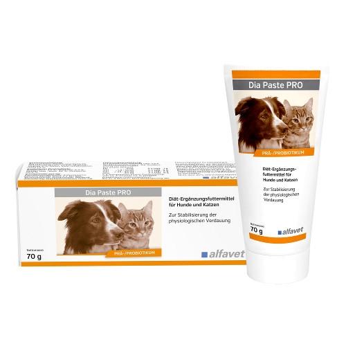 Dia Paste PRO für 70g für Hunde und Katzen unterstützend bei Durchfall von alfavet