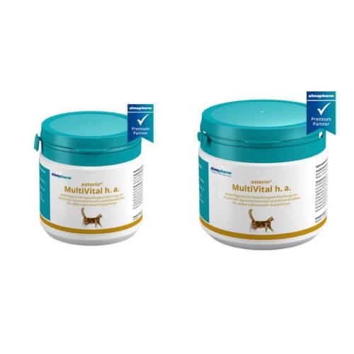 almapharm astorin MultiVital h.a. 100 g und 250 g für Katzen
