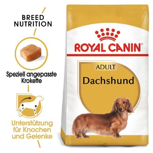Royal Canin Dachshund Adult Trockenfutter für Dackel 500 g