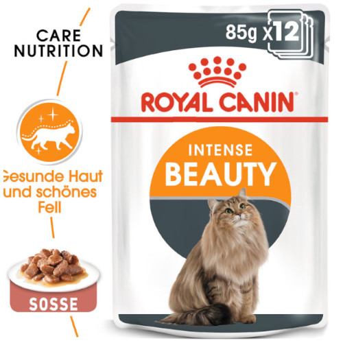Royal Canin Intense Beauty Katzenfutter nass in Soße
