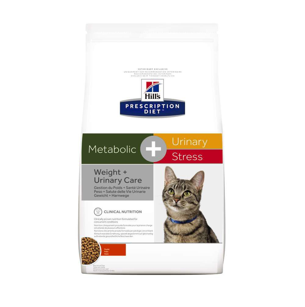 Hill's Prescription Diet Metabolic Urinary Stress feline 1,5 kg