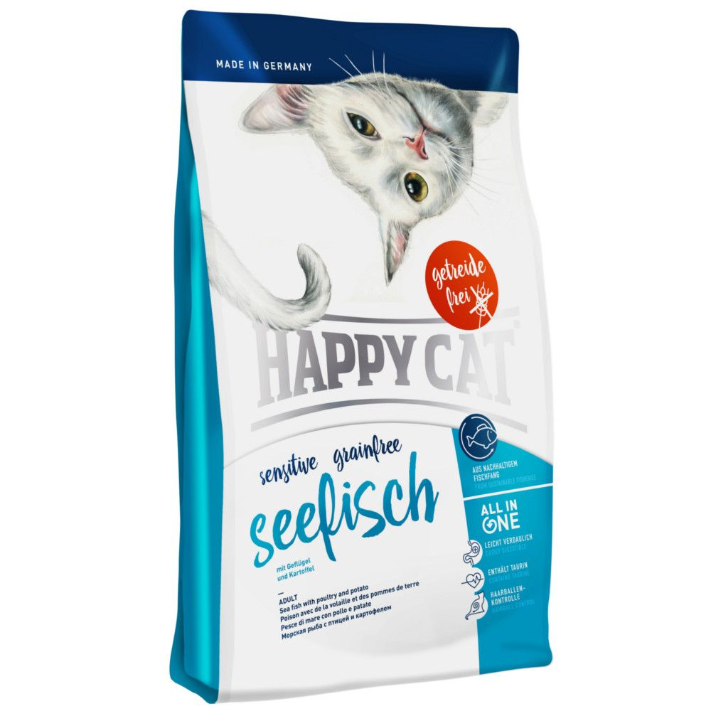 Happy Cat Sensitive Seefisch Trockenfutter