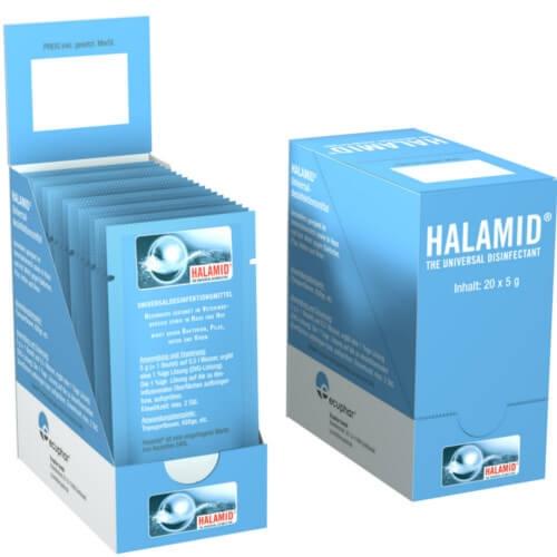 Halamid Desinfektionsmittel von ecuphar