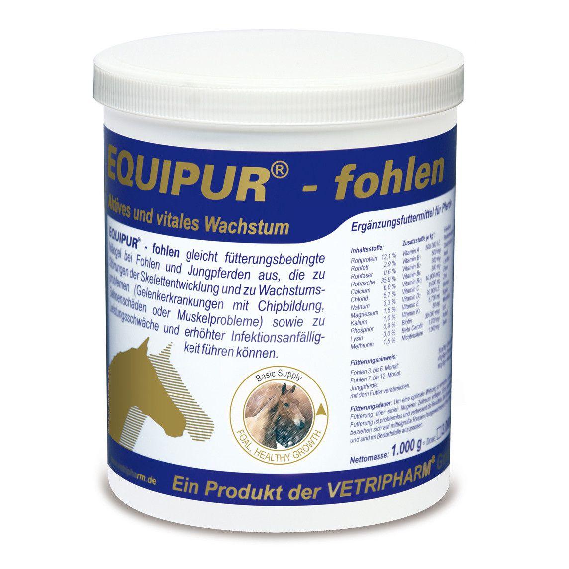 Vetripharm Equipur fohlen