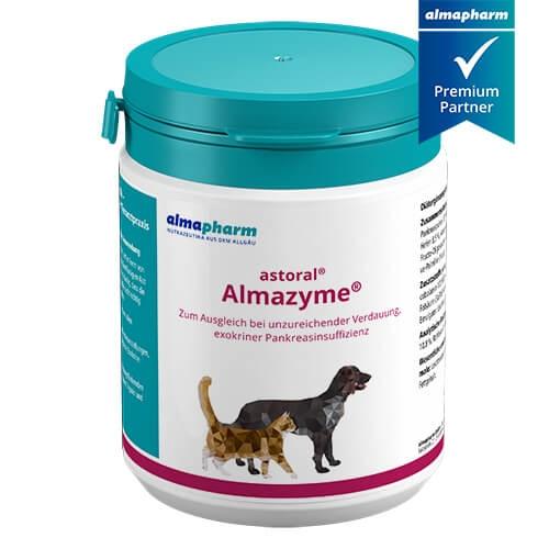 astoral Almazyme Pulver für Hund und Katze von almapharm