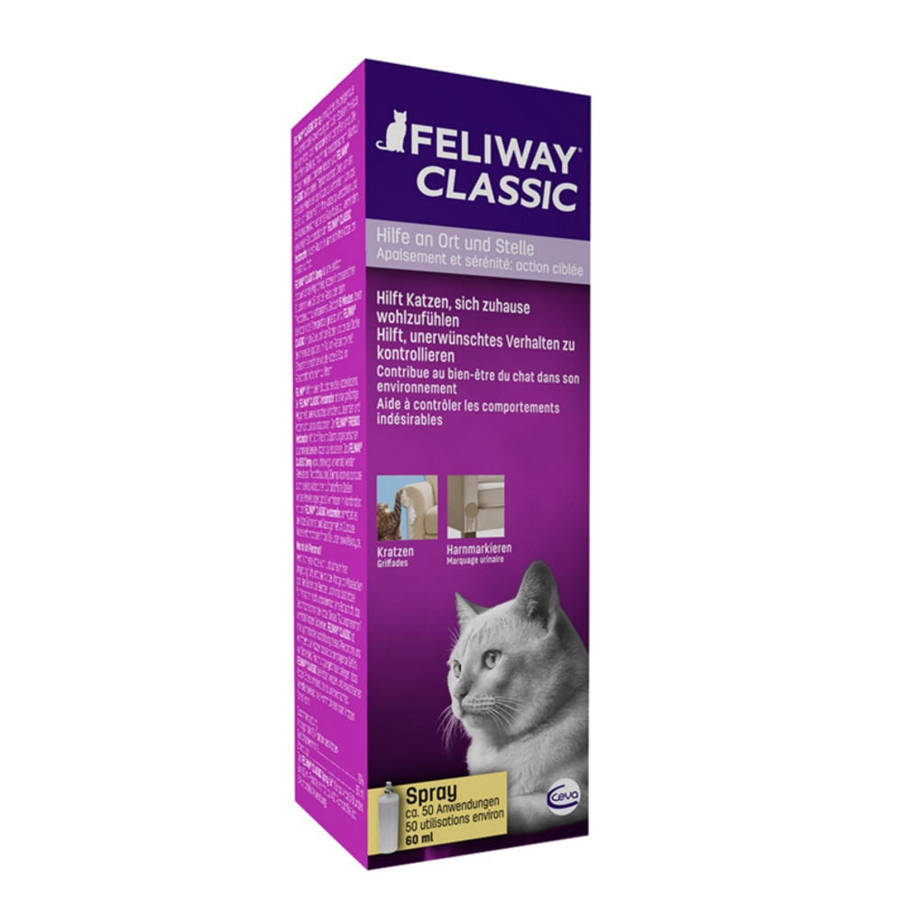 CEVA Feliway Spray 60 ml (Pumpspray) - Umverpackung defekt