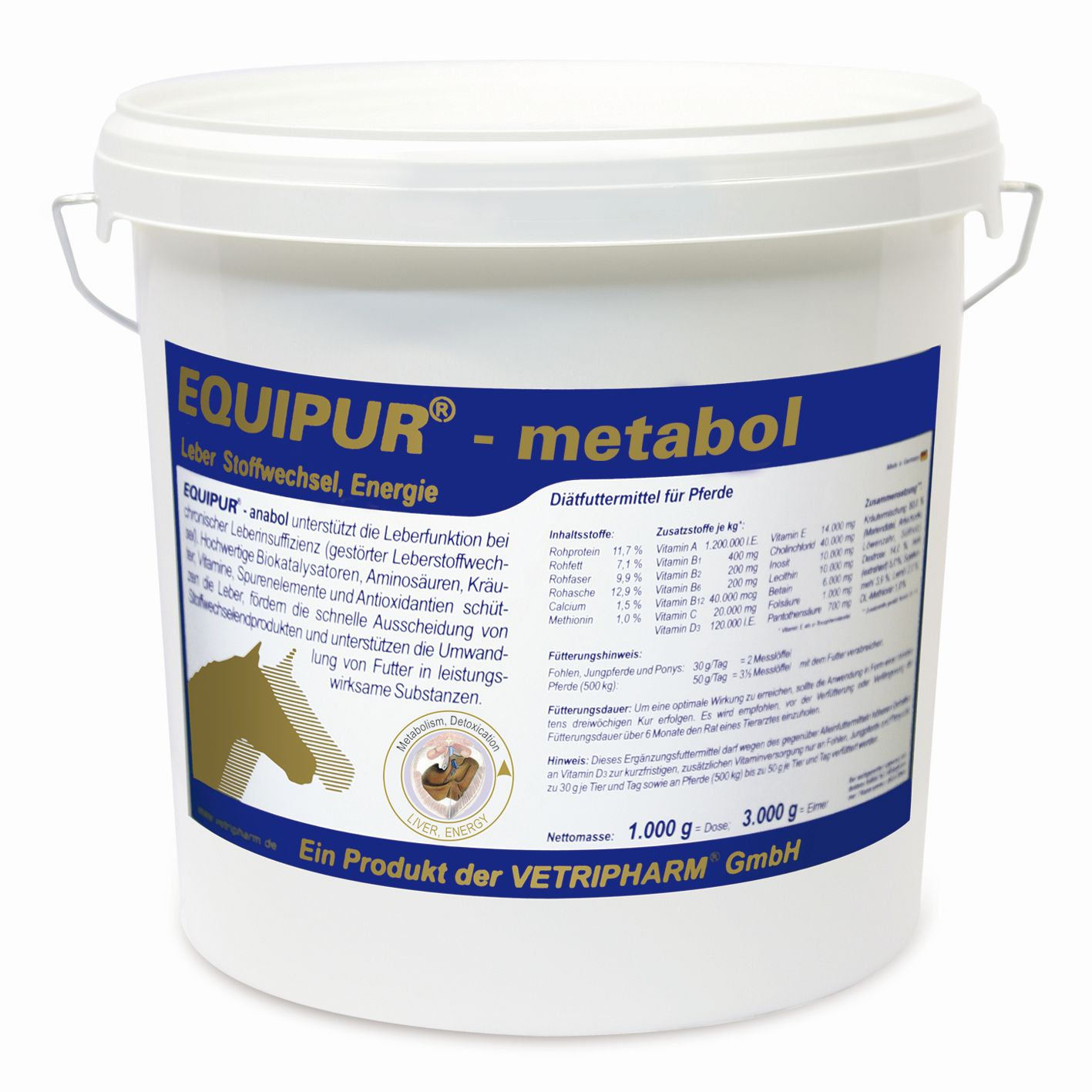 Vetripharm Equipur metabol