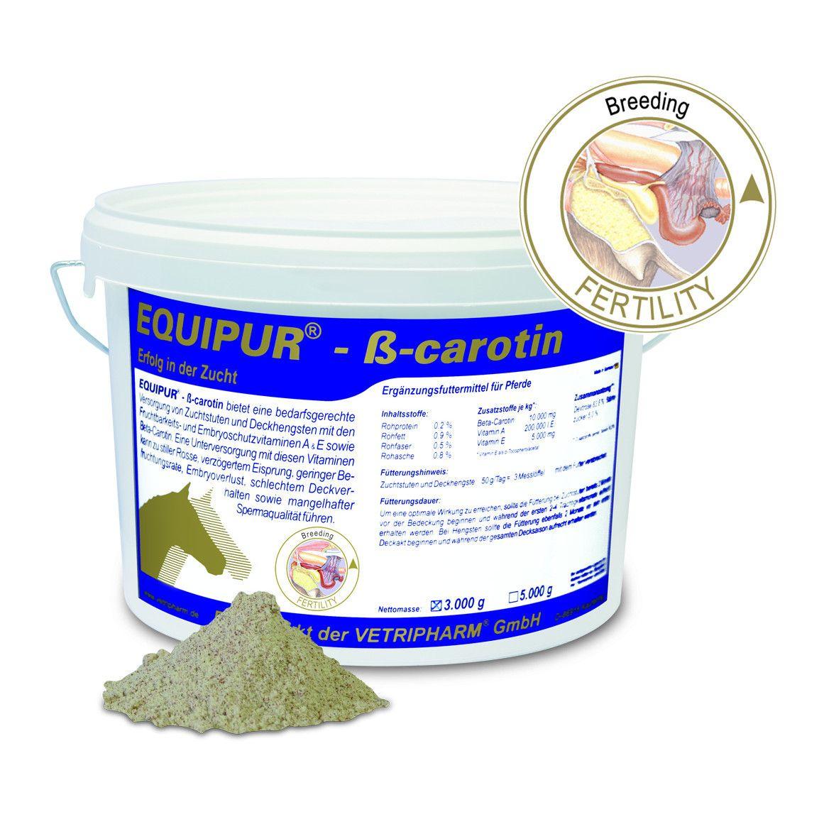 Vetripharm Equipur ß-carotin