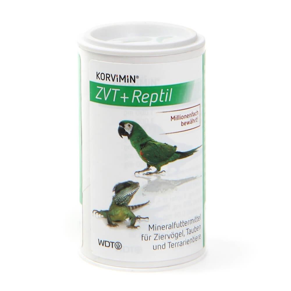 Korvimin ZVT + Reptil Pulver 50g Streudose für Vögel und Reptilien zur Vitaminversorgung von WDT