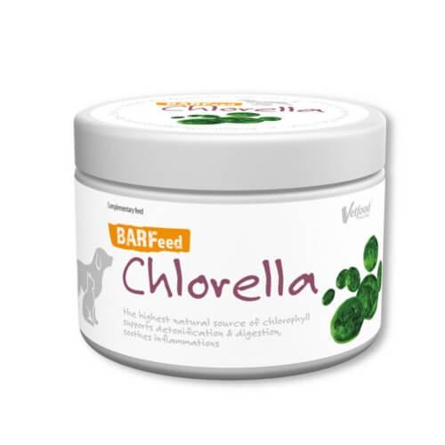 BARFeed Chlorella zur Unterstützung der Entschlackung bei Hunden und Katzen von Vetfood