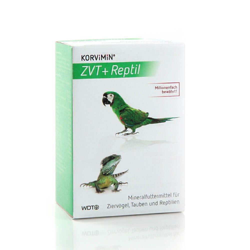 Korvimin ZVT + Reptil Pulver für Vögel und Reptilien von WDT