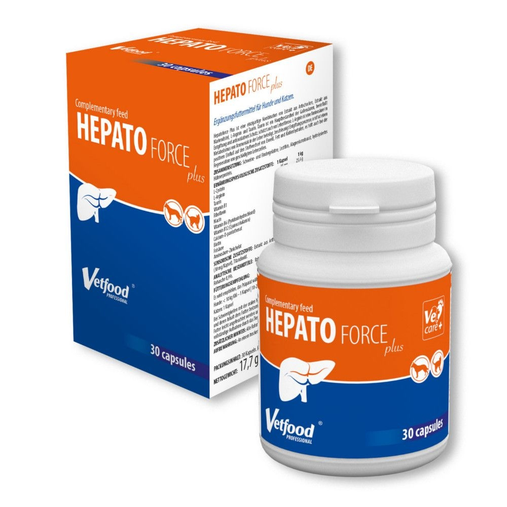 Vetfood HepatoForce plus 30 Kapseln